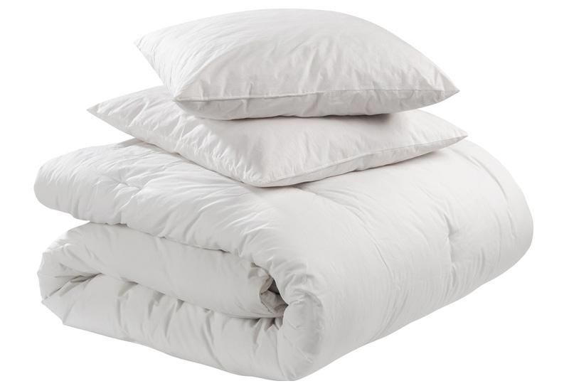 Frischekur für Kissen und Federbetten unserer Kunden