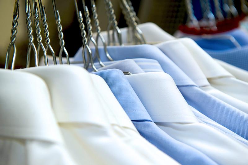 Exzellenter Oberhemden Service für unsere Privatkunden